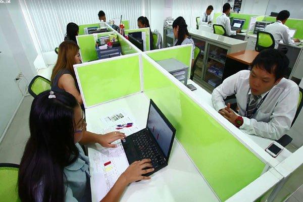Thai office